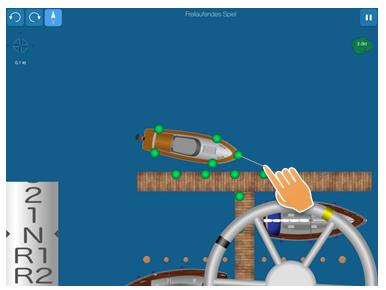 Hilfe beim Bootfahren: Motorboot bei Wind anlegen