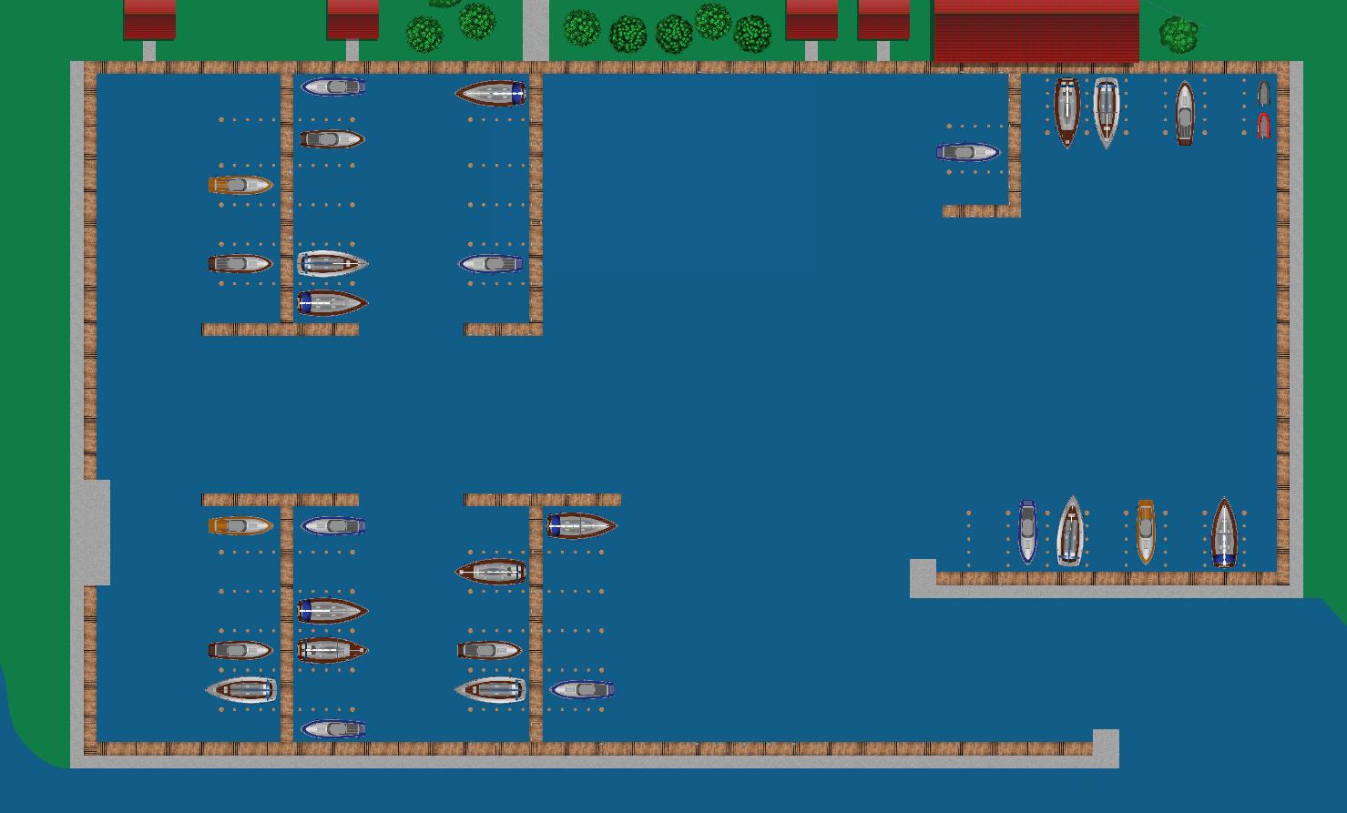 Hafenplan Hafenskipper App