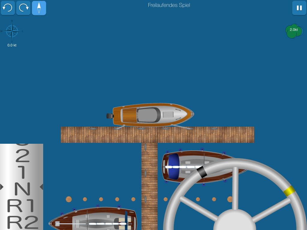 Hilfe beim Bootfahren: Schiff am Steg festmachen