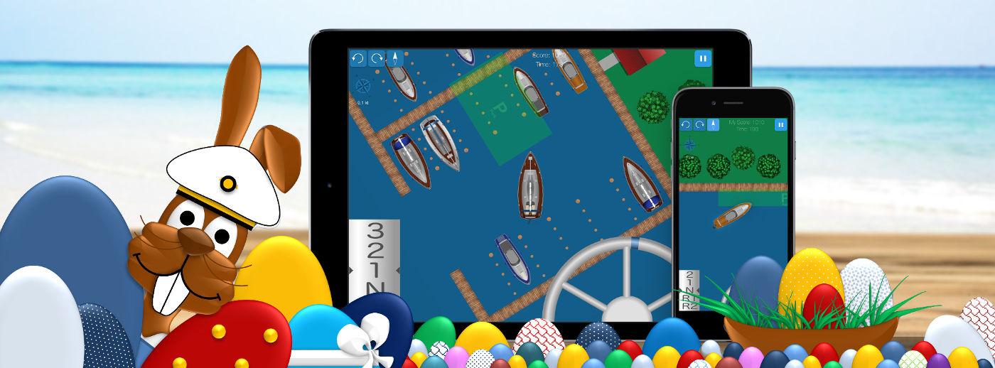 Hafenskipper: Übe das Boot Anlegen am Steg mit Wind