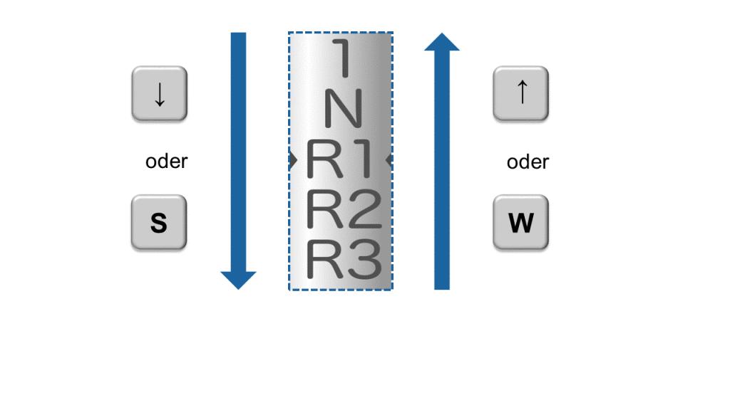 Hafenskipper-App: Tastatursteuerung für Windows